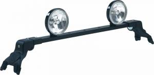 Carr Light Bars - Deluxe Rota Light Bar - Deluxe Rota Light Bar in Black Powder Coat