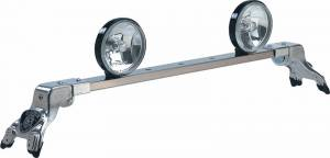 Deluxe Rota Light Bar - Deluxe Rota Light Bar in Bright Anodized - Mercury