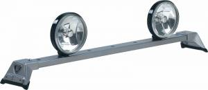 Carr Light Bars - Low Profile Light Bar - Low Profile Light Bar in Titanium Silver Powder Coat