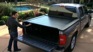 BAK Industries Tonneau Covers - RollBak Roll G2 | Aluminum Roll Up Cover - Nissan
