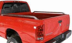 B Exterior Accessories - Bed Caps and Rails - Raptor Stainless Steel Bed Rails