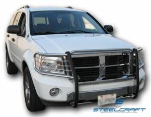 Steelcraft Grille Guards - Black - Dodge