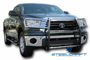 Steelcraft Grille Guards - Black - Toyota