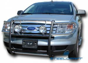 Steelcraft Grille Guards - Stainless Steel - Ford