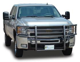 Rancher Grille Guards - Rancher Grille Guards for GMC Trucks - Rancher Grille Guards in Hammerhead Grey