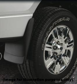 Husky Mud Flaps - Custom Molded Mud Guards - Chevy