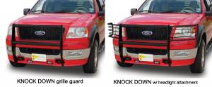 Grille Guards - Go Industries Grille Guards - Knock Down Grille Guards