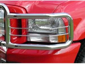 Big Tex Headlight Guards - Chevrolet Trucks - Silverado Models