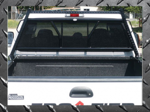 B Exterior Accessories - Headache Racks - Frontier Diamond Series Headache Rack