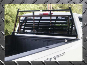 B Exterior Accessories - Headache Racks - Frontier Light Duty Headache Rack