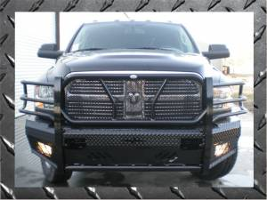 Bumpers - Frontier Gear Front Bumper Replacements - Dodge
