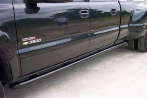 B Exterior Accessories - Running Boards and Nerf Bars - N Fab Wheel to Wheel Harley Bars