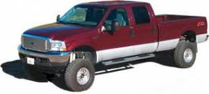 Carr Enduro Running Boards - Chevy - Chevy Mounting Bracket Kits