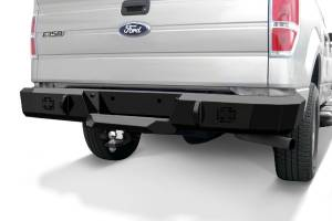 B Exterior Accessories - Bumpers - Iron Cross Base Rear Bumper