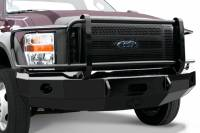 Iron Cross Front Bumpers with Full Grille Guard