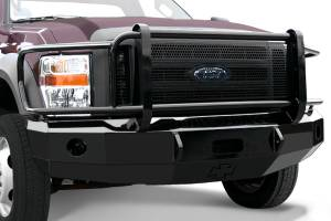 B Exterior Accessories - Bumpers - Iron Cross Front Bumper with Full Grille Guard