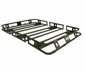 B Exterior Accessories - Cargo Boxes and Racks - ORU Defender Racks One Piece Welded