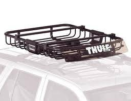 B Exterior Accessories - Cargo Boxes and Racks - Thule Roof Top Baskets