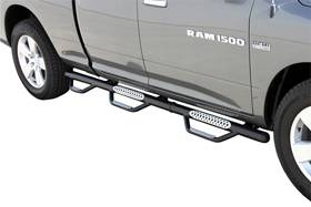 B Exterior Accessories - Nerf Bars - GO Rhino Wheel-to-Wheel Nerf Bars