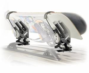 B Exterior Accessories - Cargo Boxes and Racks - Ski Racks | Snowboard Racks