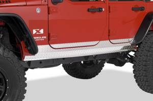 B Exterior Accessories - Rock Sliders - Warrior Side Plates