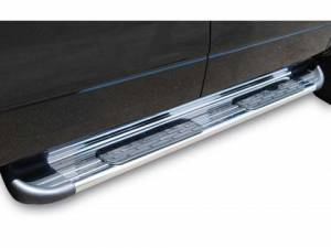 B Exterior Accessories - Running Boards and Nerf Bars - Raptor Stainless Steel Running Boards
