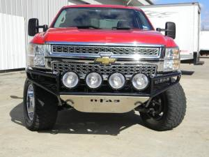 Bumpers - N Fab RSP Front Bumper - GMC