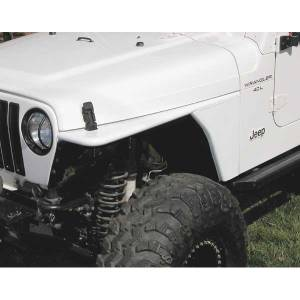B Exterior Accessories - Fender Flares - Rugged Ridge Flat Fenders