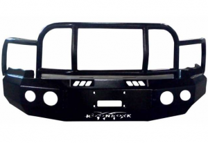 Bumpers - Boondock Bumpers - Boondock 95 Series Full Grille Guard Bumpers