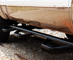 B Exterior Accessories - Running Boards and Nerf Bars - Tough Country Step Bars and Running Boards