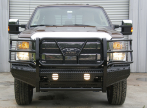 Truck Bumpers - Frontier Truck Gear - Front Bumper Replacement