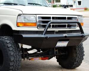 Truck Bumpers - Tough Country - Apache Front Bumper
