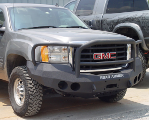 Truck Bumpers - Road Armor Stealth - GMC Sierra 2500HD/3500 2007-2010