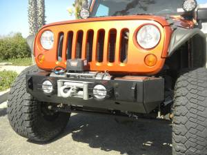 Jeep Bumpers - Olympic 4x4 - Rescue Winch Bumper