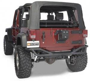 Jeep Bumpers - Olympic 4x4 - BOA Extreme Rear Bumper