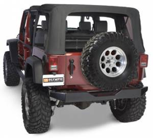 Jeep Bumpers - Olympic 4x4 - Rock Rear Bumper