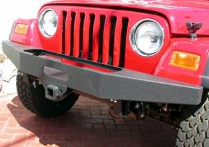 Jeep Bumpers - Olympic 4x4 - Rock Winch Bumper