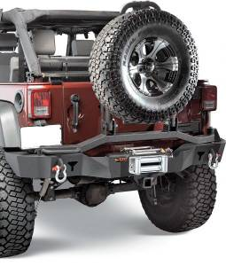 Jeep Bumpers - Olympic 4x4 - Smuggler Rear Bumper