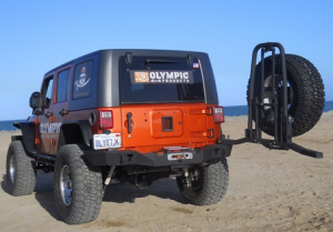 Jeep Bumpers - Olympic 4x4 - Tuff n EZ Tire Carrier