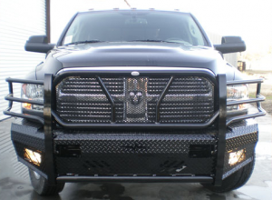 Frontier Truck Gear - Front Bumper Replacement - Dodge