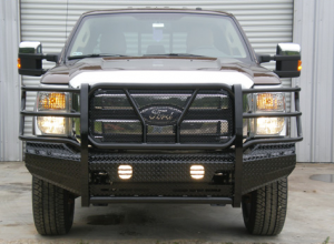 Frontier Truck Gear - Front Bumper Replacement - Ford