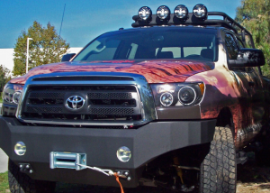 Truck Bumpers - Body Armor - Body Armor Bumpers for Toyota Tundra