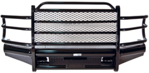 Bumpers by Style - Grille Guard Bumper - Tough Country Traditional Front Bumper