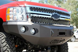 Bumpers by Style - Base Bumpers - Road Armor Winch Front Bumper