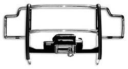 Grille Guard/Brush Guard - Grille Guard - Go Rhino - Go Rhino 23109MPS Go Rhino Winch Bumper/Grille Guard