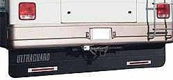 "Mud Flaps for RVs - Ultra Guard Full Length Mud Flap - Ultra Guard - Ultra Guard 00016 Motorhome & RV Mud Flap System 94"" x 16"" Mud Flap"