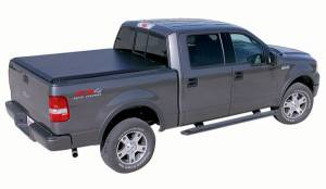 B Exterior Accessories - Tonneau Covers - Access - Access 11359 Access Roll Up Tonneau Cover Ford F150 6.5' Bed with Side Rail Kit 2008-2010