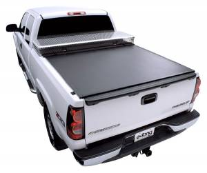 Access Toolbox Cover - Chevy/GMC - Access - Access 62299 Access Toolbox Tonneau Cover Chevy/GMC New Body Full Size 8 Bed Includes Dually with or without cargo rails 2007-2010