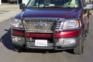 B Exterior Accessories - Grille Guards - Steelcraft - Steelcraft 51020 Black Grille Guard Ford F150/F250 (1999-2004)