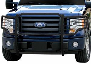 B Exterior Accessories - Grille Guards - Steelcraft - Steelcraft 51360 Black Grille Guard Ford F150 (2009-2013)